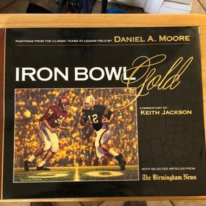 Iron Bowl Gold by Keith Jackson